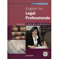 English For Legal Professionals (Incl. Multirom) - Express Series