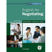 English For Negotiating (Incl Multirom) - Express Series